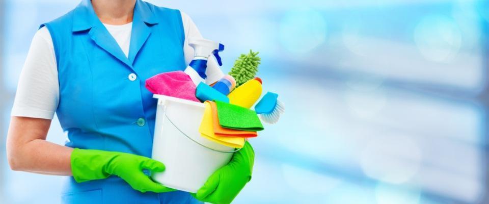 Środki czystości wwiadrze